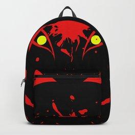 """Japanese Fox Mask """"Dark"""" Backpack"""