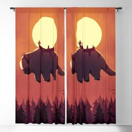The Last Airbender  Blackout Curtain