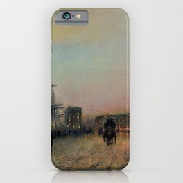 John Atkinson Grimshawn - Canny Glasgow - Digital Remastered Edition iPhone Case
