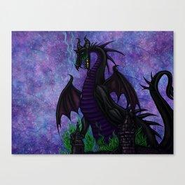 Dragon Maleficent Canvas Print
