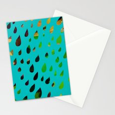IT RAINED ALL DAY- BLUE Stationery Cards
