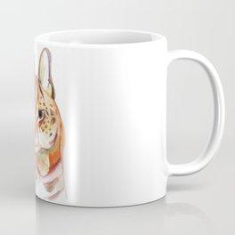 Serval wild cat watercolor Coffee Mug