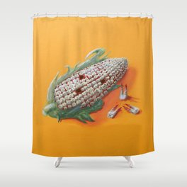 Corn Of The Gob Shower Curtain