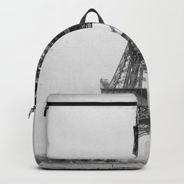 Eiffel Tower Under Construction Backpack