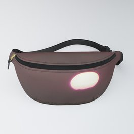 Purple Sunset Over the Sea Fanny Pack