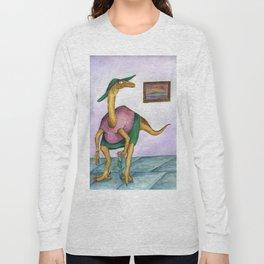 Dressy Dinosaur - Shirley Long Sleeve T-shirt