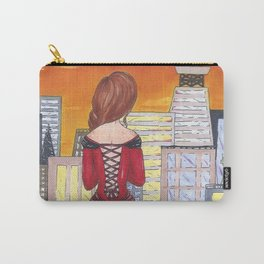 Kiss the Sunset Carry-All Pouch