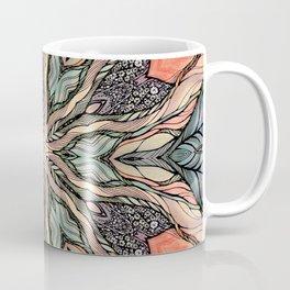 Autumn Leaves Mandala Coffee Mug