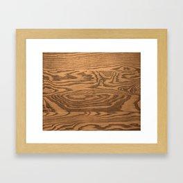 Wood 4 Framed Art Print