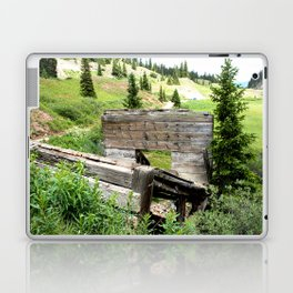 Black Bear Pass Road - Gold Rush Ore Loading Chute, No. 3 of 3 Laptop & iPad Skin