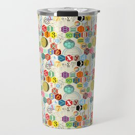 Math in color (little) Travel Mug