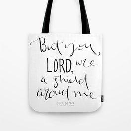 Psalm 3:3 Tote Bag