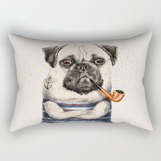 Mr.Pug Rectangular Pillow