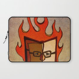 Prophets of Fiction - Ray Bradbury /Fahrenheit 451 Laptop Sleeve