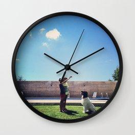 Serie #uneviedechien // 17/20 Wall Clock