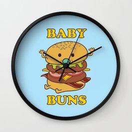 BABY BUNS 2 Wall Clock