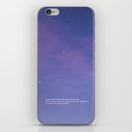 Star Shopping - Lil peep iPhone Skin