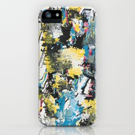 Glitch 3 iPhone Case