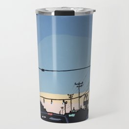 Reidville Road at Sunset Travel Mug