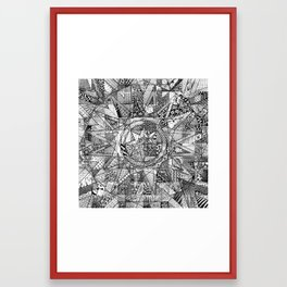 Mandala 3 Framed Art Print