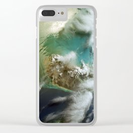 Andros Island Clear iPhone Case