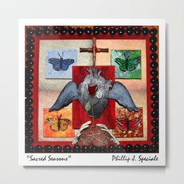 """Sacred Season"" Metal Print"