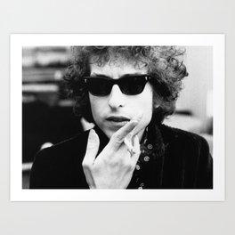 Bob Dylan concert 2019 Art Print