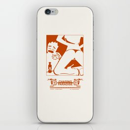 CHASING PARADISE CH1 iPhone Skin