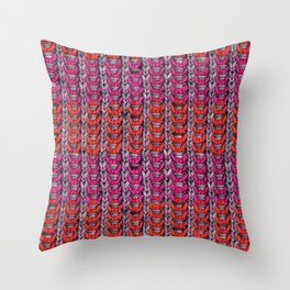 Neon Mikkey Knit Throw Pillow