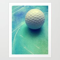 golf Art Prints featuring GOLF by Yilan