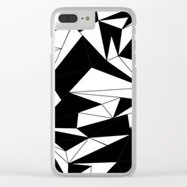looking black Clear iPhone Case