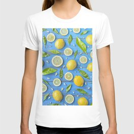 Fruits and leaves pattern (32) T-shirt