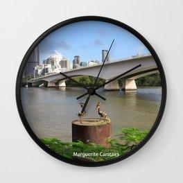 Brisbane River Wall Clock