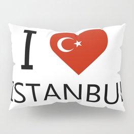 I love Istanbul Pillow Sham