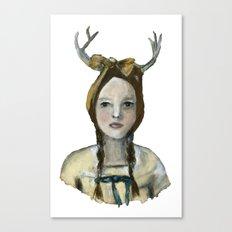 Woodland Girl II Canvas Print