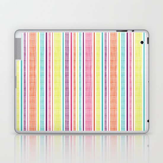Textured Stripes Laptop & iPad Skin