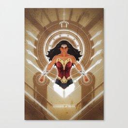 Goddess of Truth Canvas Print