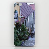 norway iPhone & iPod Skins featuring Bergen - Norway  by Cynthia del Rio