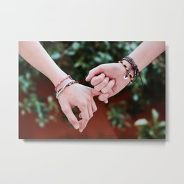 Love Pinky Swear Metal Print