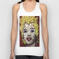 marylin monroe Tank Tops featuring MARYLIN MONROE by JANUARY FROST