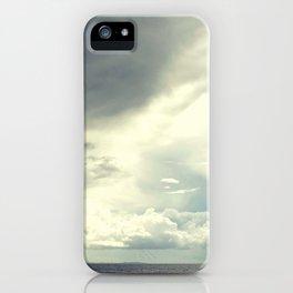 Sea& clouds iPhone Case