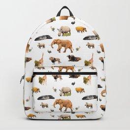 African Savanna Wildlife Pattern Backpack