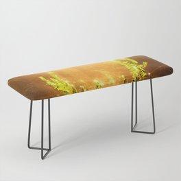 Greenery Deer - Golden Sun Bench