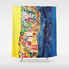 One Morning In August Shower Curtain