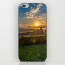 Sunset in Wine Country, Franschhoek, South Africa iPhone Skin