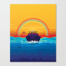 SummerTrip Canvas Print