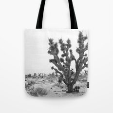 joshua tree bw Tote Bag