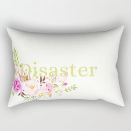 Disaster Rectangular Pillow