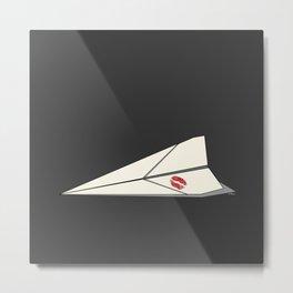 Paper Airplane 8 Metal Print