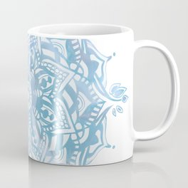 Baby Blue Mandala Coffee Mug